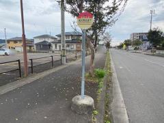 「南矢野目道下」バス停留所