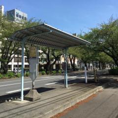 「学院前」バス停留所