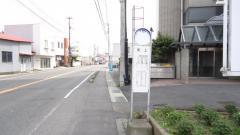 「矢上」バス停留所