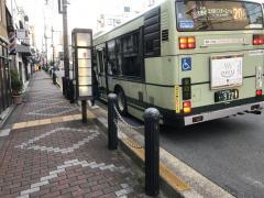 「千本出水」バス停留所