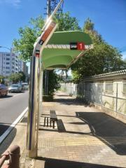 「鯛取通五丁目」バス停留所