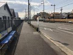 「高須台中央」バス停留所