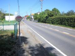 「関小入口」バス停留所