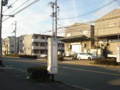 「長吉川辺二丁目」バス停留所