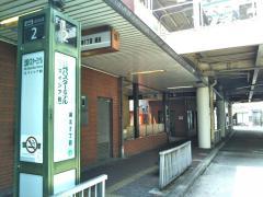 「北巽バスターミナル」バス停留所