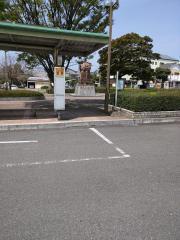 「唐津駅」バス停留所