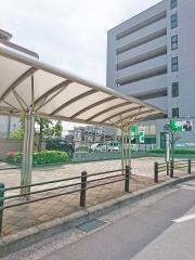「南摂津駅」バス停留所