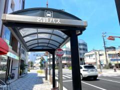 「篭田公園前」バス停留所