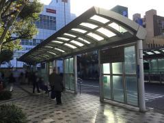 「西葛西駅前」バス停留所