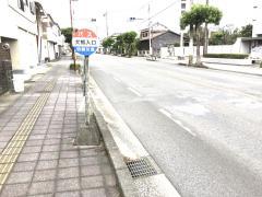「犬熊入口」バス停留所