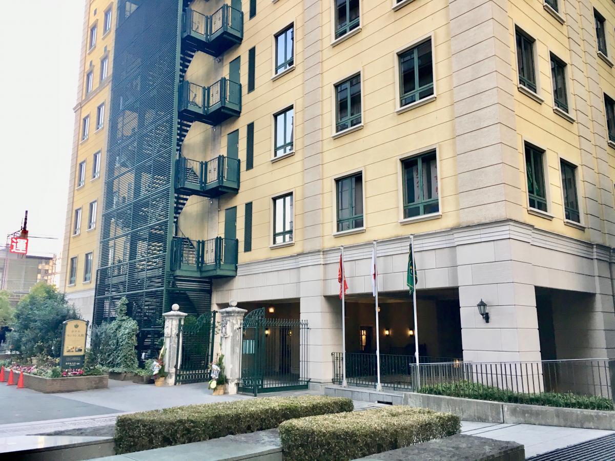 ホテルモントレ大阪です。
