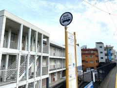 「上千足」バス停留所