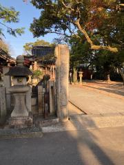 三十八神社(福万寺城址)