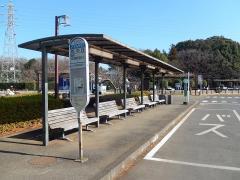 「花の丘」バス停留所