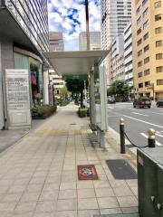 「京町堀」バス停留所