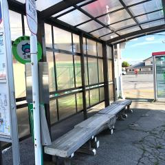 「氷川神社」バス停留所