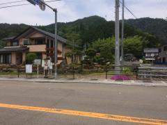 「上小野」バス停留所