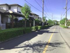 「ぶしニュータウン南」バス停留所