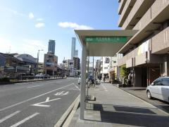 「天王寺町南二丁目」バス停留所