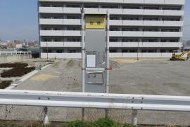 「桜橋」バス停留所